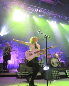 Sleater-Kinney at the 9:30 Club in DC, 2-24-15